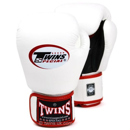 Twins Air Flow Boxing Gloves - White