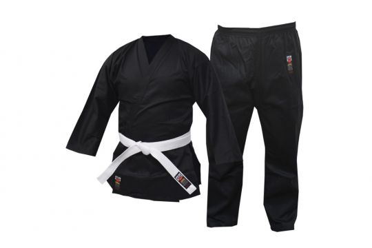 Cimac 8oz Black Karate Suit