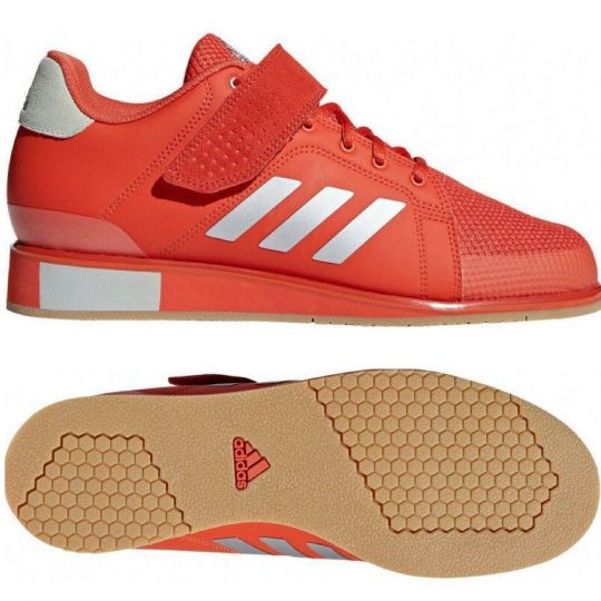 Adidas Power Perfect III Weightlifting Boots - Red