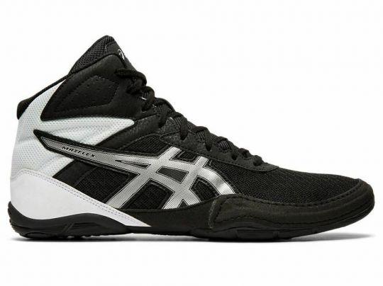 Asics Matflex 6 Adult Wrestling Boots - Black/Silver