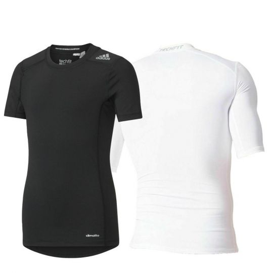 Adidas Youth Techfit Base Compression Tee