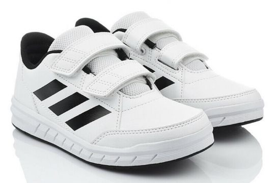 Adidas Alta Sport Kids Running Shoes - White