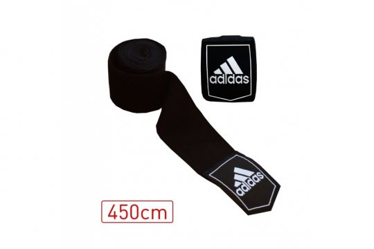 Adidas Hand Wraps - Black - 450cm - ABA Approved