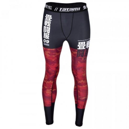 Tatami Kids Essential Camo Spats - Red