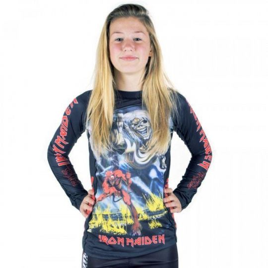 Tatami Iron Maiden Beasts Kids Rashguard