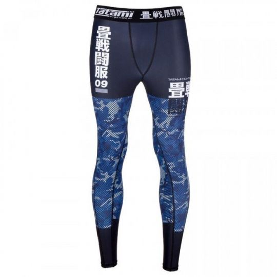 Tatami Kids Essential Camo Spats - Blue