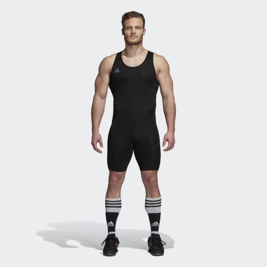 Adidas Powerlift Weightlifting Suit - Black