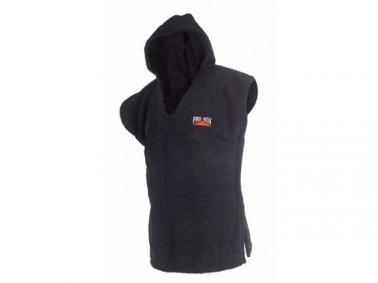 Pro Box Hooded Toweling Poncho - Adult and Junior