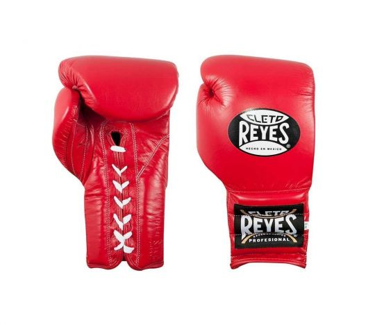 Cleto Reyes Lace Up Sparring Boxing Gloves - Red