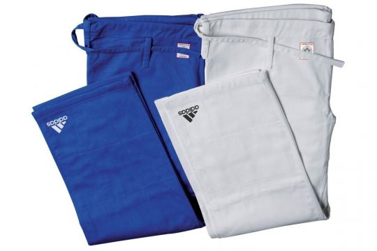 Adidas Champion II Judo Trousers - IJF Approved   Clothing   Fight Equipment UK