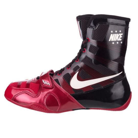 Nike Hyper KO Boxing Boots - Black/Red