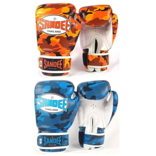 Sandee Authentic Kids Camo Boxing Gloves