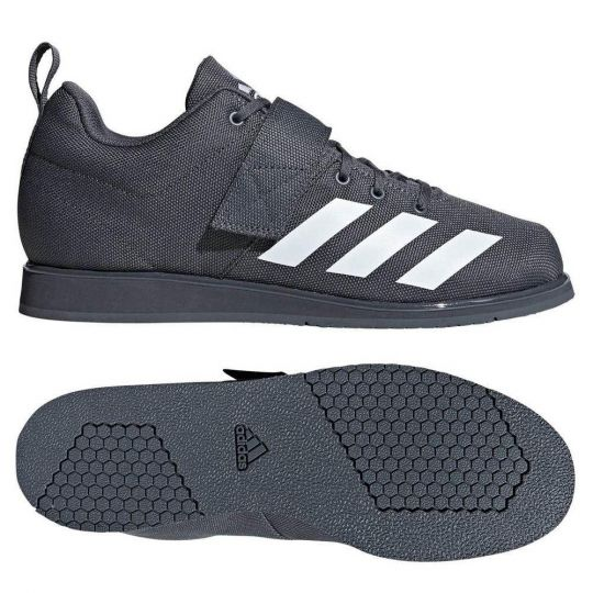 Adidas Powerlift 4 Weightlifting Boots - Grey