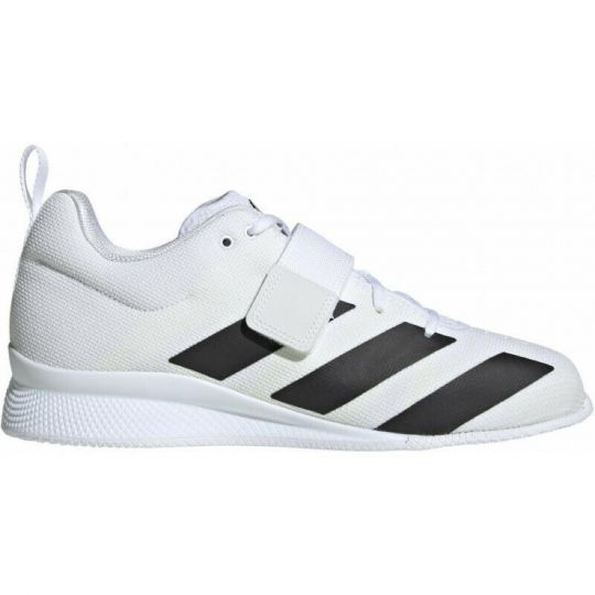 Adidas Adipower 2 Weightlifting Boots - White