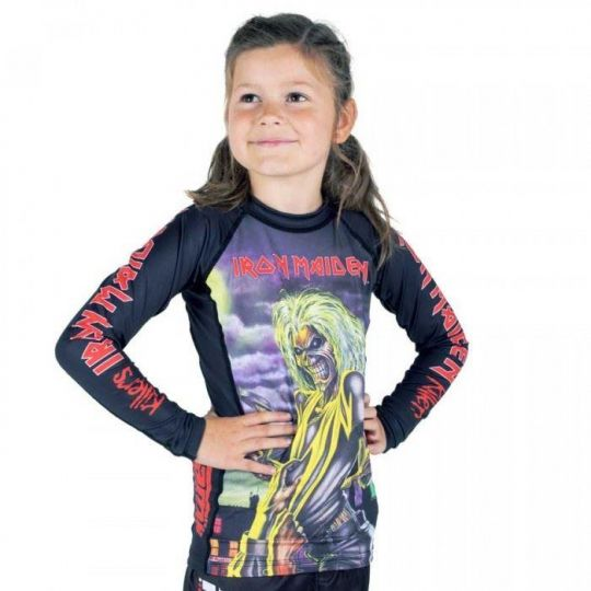 Tatami Iron Maiden Killers Kids Rashguard