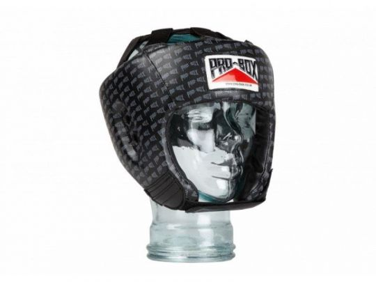 Pro Box Kids Base Spar Head Guard - Black