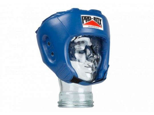 Pro Box Kids Base Spar Head Guard - Blue