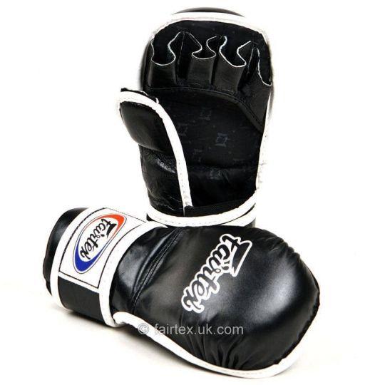 Fairtex MMA Sparring Gloves - Black