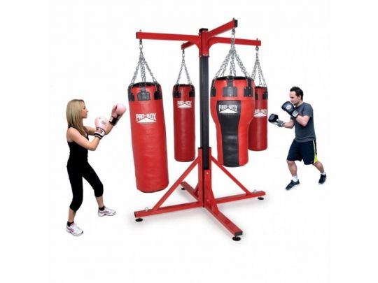 Pro Box Colossus Four Station Punch Bag Frame