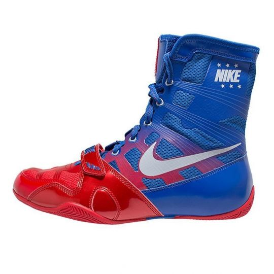 Nike Hyper KO Boxing Boots - Blue/Red
