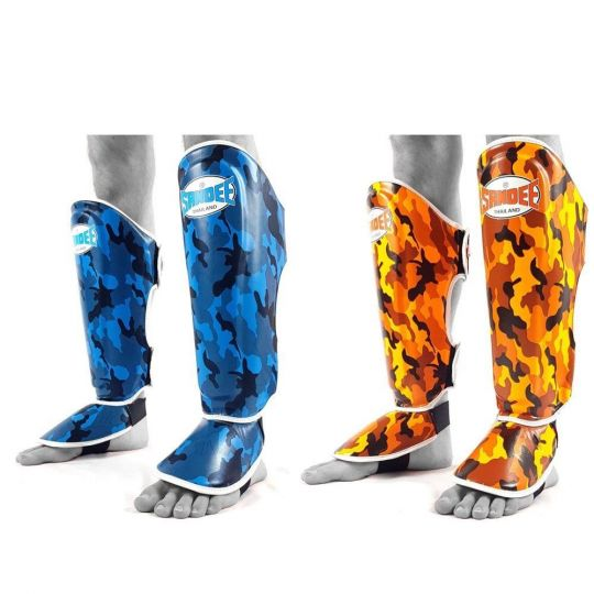Sandee Authentic Kids Camo Shin Guards