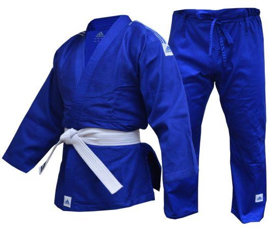 Adidas Adult Club Judo Uniform - Blue 350g