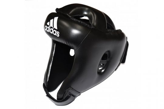 Adidas Rookie Head Guard - Black | Boxing Head Protection | Fight Equipment UK