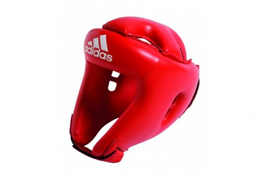 Adidas Rookie Head Guard - Red | Head Guards | Fight Equipment UK