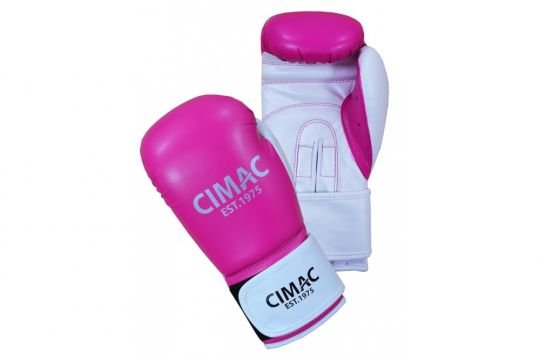 Cimac Womens Boxing Gloves - Black / Pink
