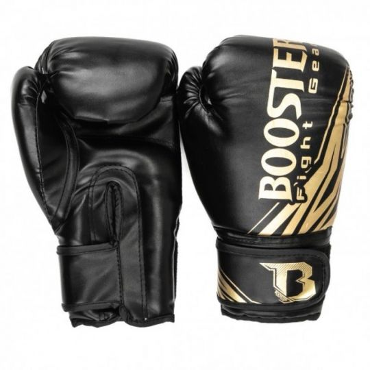 Booster BT Champion Kids Boxing Gloves - Black/Gold