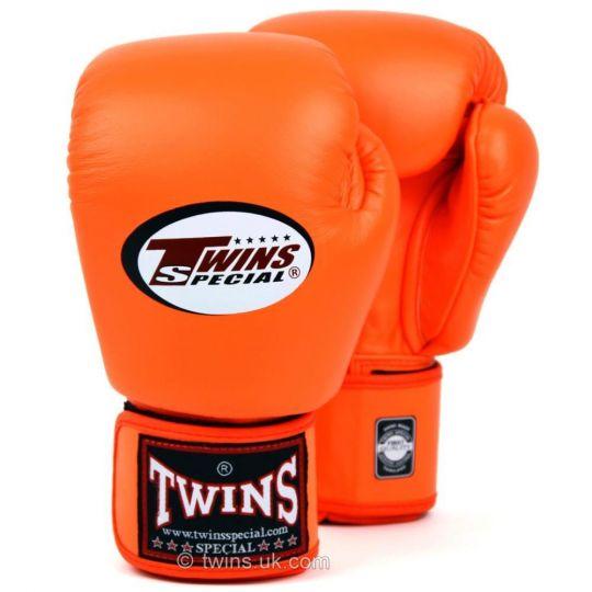 Twins Boxing Gloves - Orange