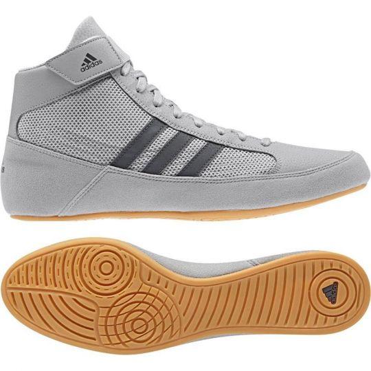 Adidas Havoc Adult Wrestling Boots - Grey