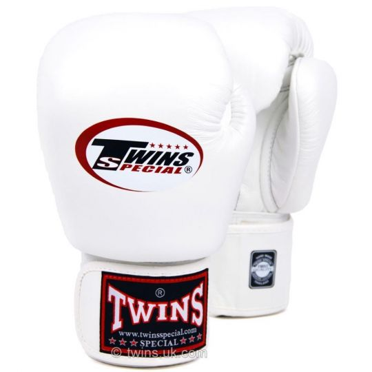 Twins Boxing Gloves - White
