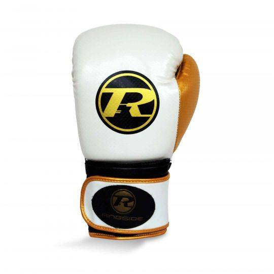 Ringside Pro Fitness Boxing Gloves White