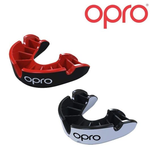 Opro Silver Twin Pack Mouth Guard