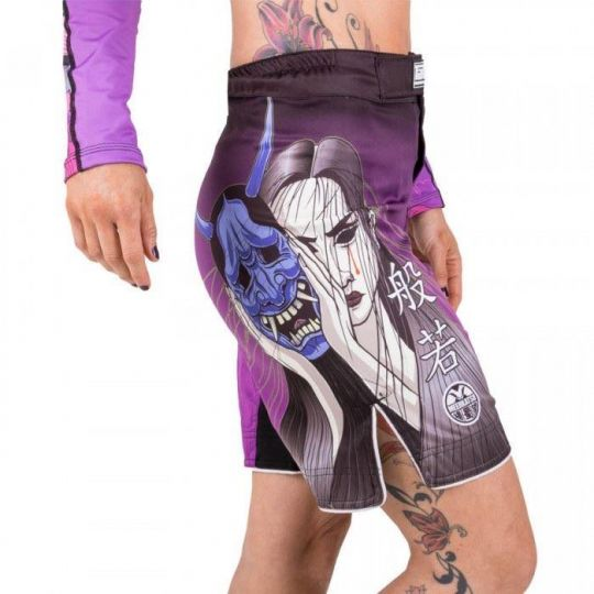 Tatami Ladies Weeping Hannya Fight Shorts