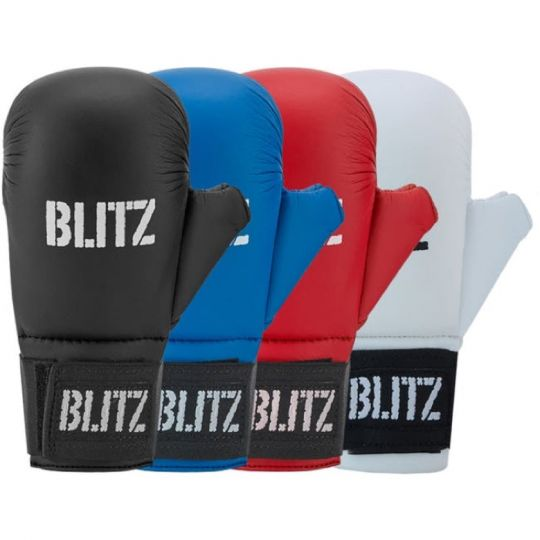 Blitz Elite Karate Gloves Mitts With Thumb