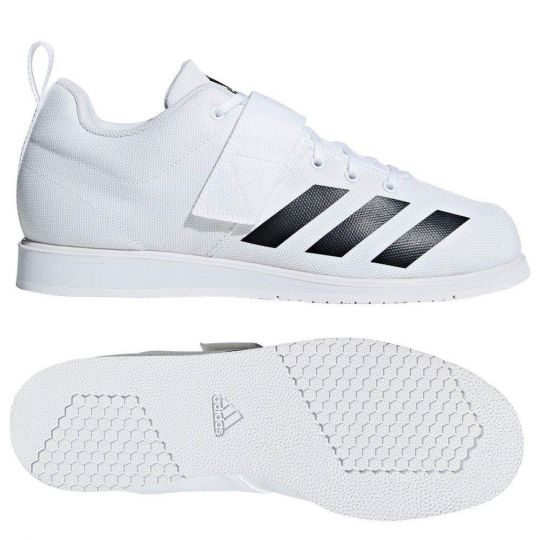 Adidas Powerlift 4 Weightlifting Boots - White
