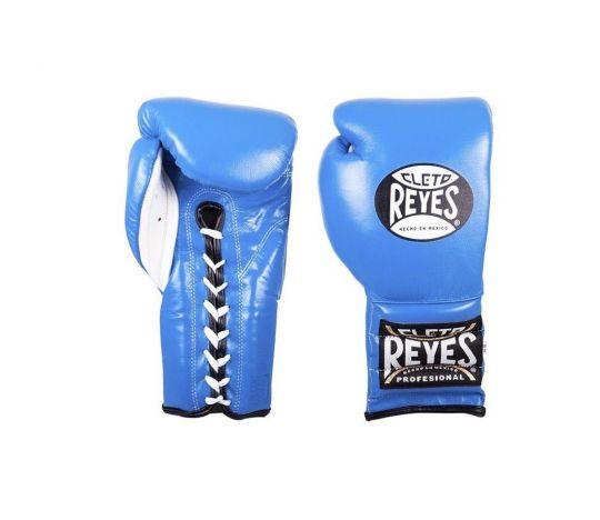 Cleto Reyes Lace Sparring Gloves - Blue
