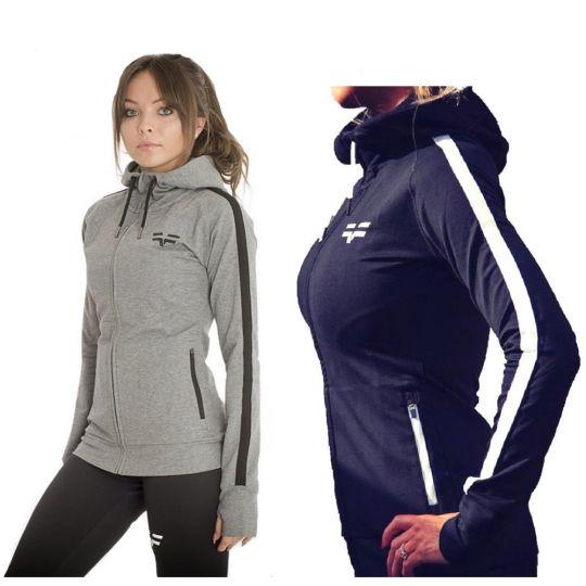 Gym Freak Womens Active Hoodie