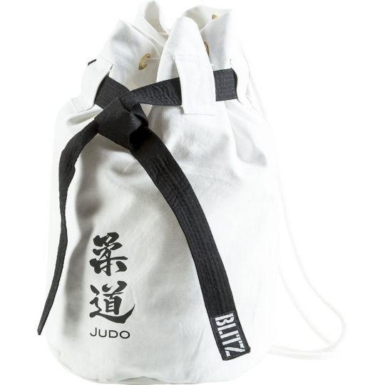 Blitz Sport Judo Discipline Duffle Bag - White
