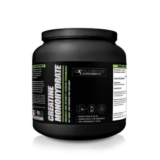 Exclusive Supplements Creatine Monohydrate