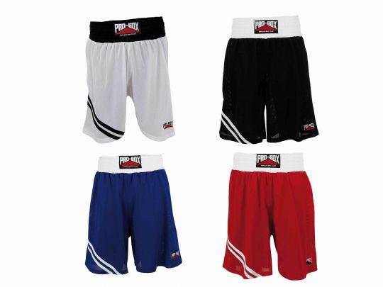 Pro Box Boxing Shorts - Adult & Kids White