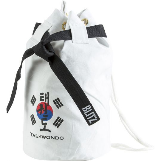 Blitz Sport Taekwondo Discipline Duffle Bag - White