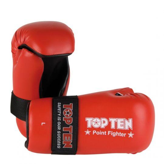 Top Ten Pointfighter Gloves - Red
