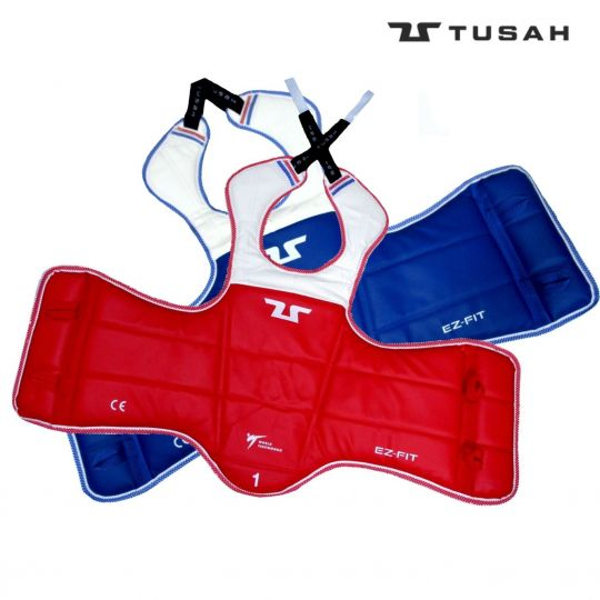 Tusah WTF Approved Reversible Body Guard