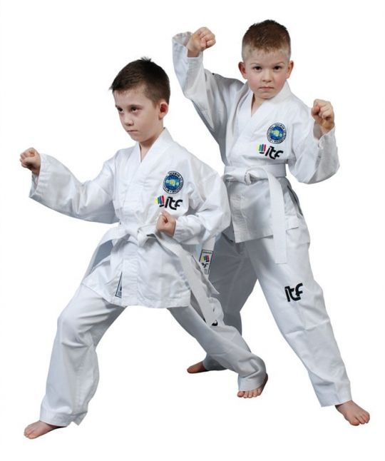 Top Ten Kids Student ITF Tae Kwon-Do Dobok