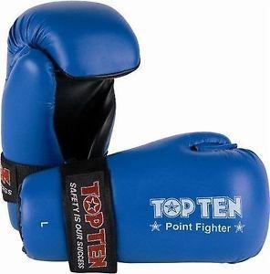 Top Ten Pointfighter Gloves - Blue