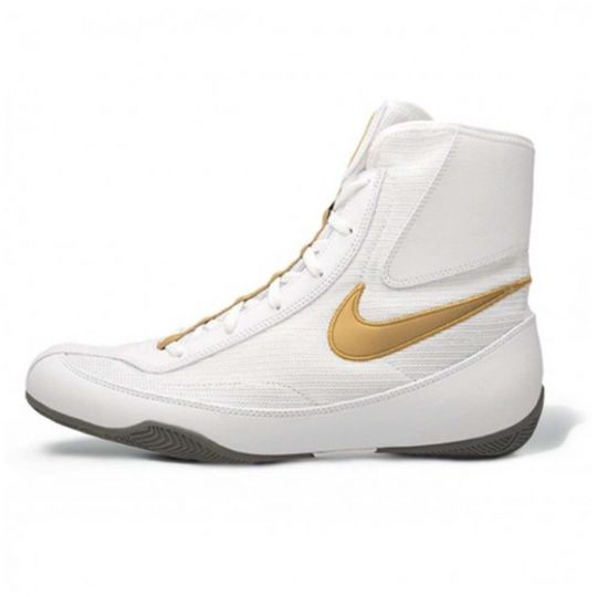 Nike Machomai 2 Boxing Boots - White/Gold