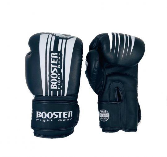 Booster Pro V7 Boxing Gloves - Black/White